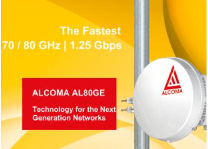 Радиорелейная станция ALCOMA AL80GE