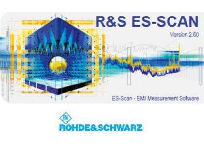 R&S ES-SCAN Программное обеспечение для измерения ЭМП