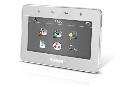 Клавиатура с сенсорным дисплеем INT-TSG
